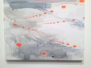 "Olivia Schreiner Kennedy Overcast, 2013 Acrylic on canvas 24"" x 30"""