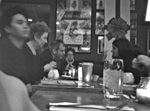 Dinner with Janine Antoni