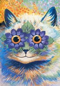 Louis Wain, anthropomorphic cat paintings