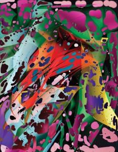 Spotting #1 (Emma) 2014 Unique color photograph 44x 34 in/ 111.8x 86.4 cm Ed. 1 +1AP