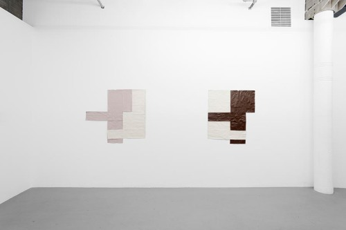 Installation view of Margaret Welsh's Paintings